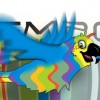Flying Cartoon Parrot Logo Animation